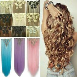 100 percent natural new hair clip in
