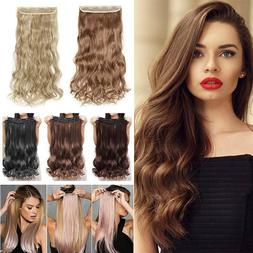 100% REAL Clips in One Piece Hair Extension CLEARANCE As Hum