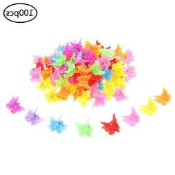 100 Pieces Hair Clips Claw Butterfly Hair Clips Barrettes As