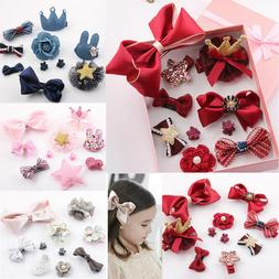 10Pcs Kids Toddler Hairpin Baby Girls Cartoon Animal Princes