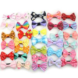 10pcs lot hot mixed bow kids children
