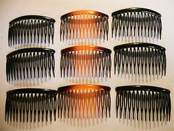 12 pcs Combs Plastic Hair Clips Side.