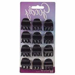 Goody 12Ct Small Claw Clips Assorted Selection
