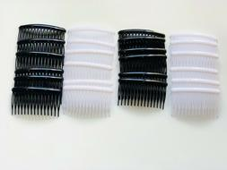 12pcs Combs Plastic Hair Clips Side  The Color Pick up .