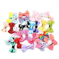 2 20pcs ribbon hair clip duckbill hairpins