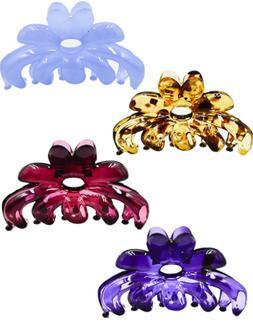 "Prettyou 2.75"" Banana no slip Effortless colorful Hair Clip"
