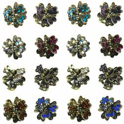 Bella 2 Sets of 8 Mini Jaw Clips Hairclips Total 16 Mini Hai