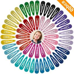 60 pcs barrettes non slip hair clips