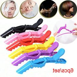 6Pcs Hair Clips Styling Sectioning Thick Hair Cutting Claw L