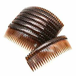 WSSROGY 8 pcs Plastic Hair Side Combs Accessories Comb Hair