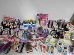90 item Hair Accessory Lot  Scunci Goody Conair headbands ja