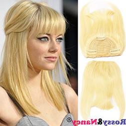 Rossy&Nancy #613 Blonde Color Brazilian Human Hair Clip-in H