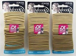 Goody Blonde Thick Hair Elastics 30 Count