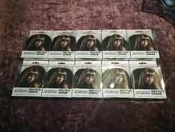 Revlon Clip Lok Bangs Hair Extensions Dark Brown Lot of 10 N