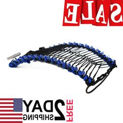 HairZing Cord S-T-R-E-T-C-H Banana Comb, Hair Accessory Perf