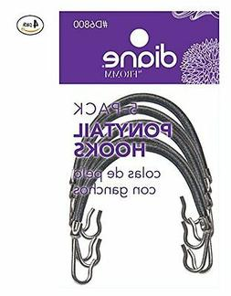 Diane Ponytail Hooks Black - 20 pieces, Headband, hair claw,