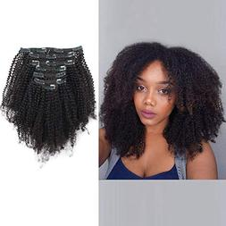 AmazingBeauty Double Weft 8A Grade Big Thick Afro Coily 4B 4