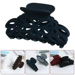 Fashion Large Plastic Hair Claw Clamps Clips Accessory For W