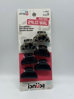 Scunci Fine Hair Jaw Clips 32683 Tighter Hold  Smaller openi