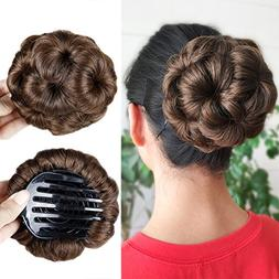 HANNE Hair Chignon Pony Tail Bun Artificial Synthetic Tress
