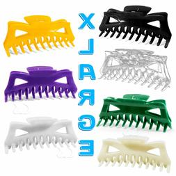 """Hair Claw Clip XL 5.5"""" Butterfly Clips Choose Color Extra La"""