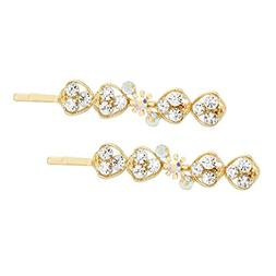 Rosemarie Collections Women's Hair Clip Decorative Crystal B
