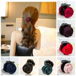 Hair Clip Rose Hair Claws Clips Hair Accessories For Women G