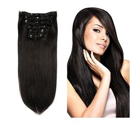 Lovbite Hair Human Hair Clip In Hair Extensions Double Weft