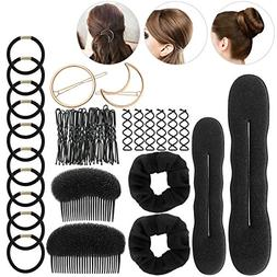 ETEREAUTY Hair Styling Accessory Kit, 34 Pieces Total