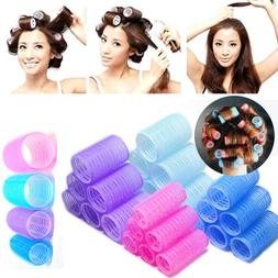 High New 6pcs Large Hair Salon Rollers Curlers Tools Hairdre
