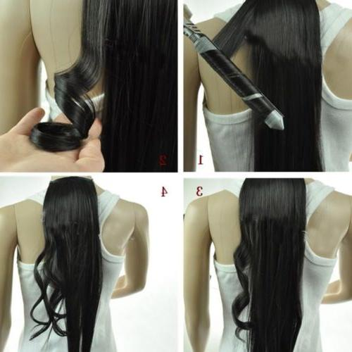 100% Clip in Hair Extensions Pieces Head Real Human Hair MX5