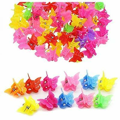 100 Claw Butterfly Color Jaw Hairpin