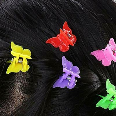 100 Claw Butterfly Color Mini Hairpin