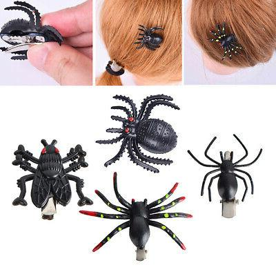 10pcs halloween spider hair clips insect style