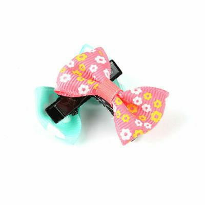 10pcs/set Mixed Bow Hair Clip Duckbill Baby Kids