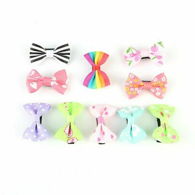 10pcs/set Mixed Bow Clip Hairpins Baby Kids Children