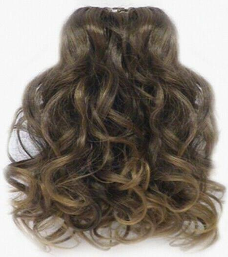 """13"""" LONG LAYERED CURLS CURLY PONYTAIL CLAW CLIP"""