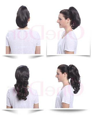OneDor Use Hair Claw Ponytail Extensions