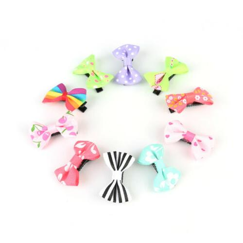 2-20pcs Ribbon Duckbill Hairpins Kids Children