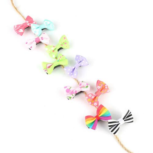 2-20pcs Ribbon Clip Duckbill Hairpins for Kids Girls