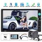 "2 Din 7"" In-Dash Car Stereo MP5 Player BT Touchscreen Radio"