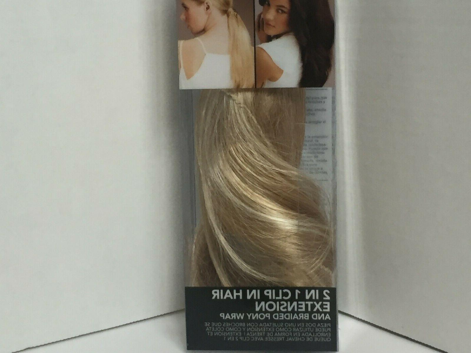 2 in one clip in hair extension