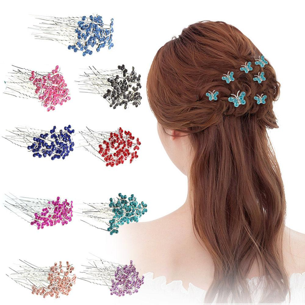 BUTTERFLY Clips Bridesmaid