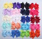 20 Pcs 5 Inches LOT Baby Girls Hair Bows Alligator Hair Clip