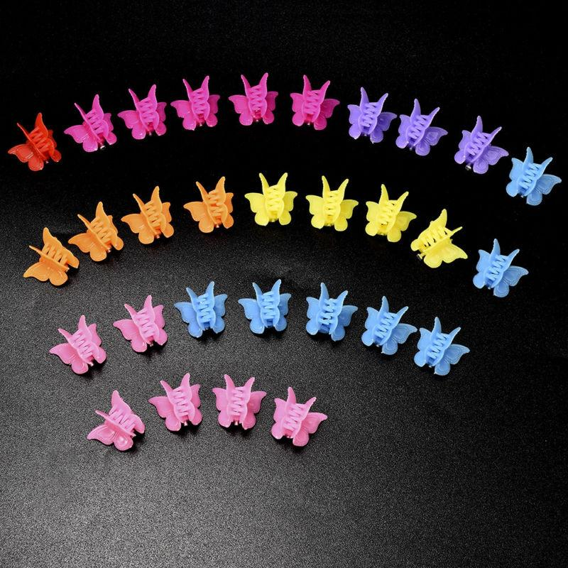 20pcs butterfly hair clips mini hairpin
