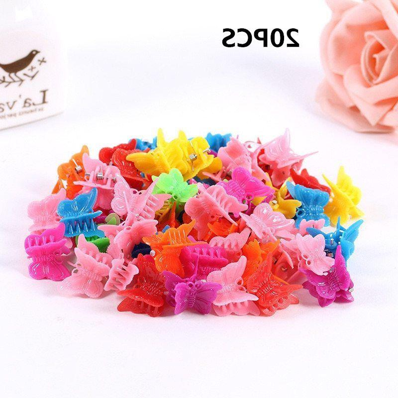 20pcs Wholesale Headdress Butterfly Hair Claw
