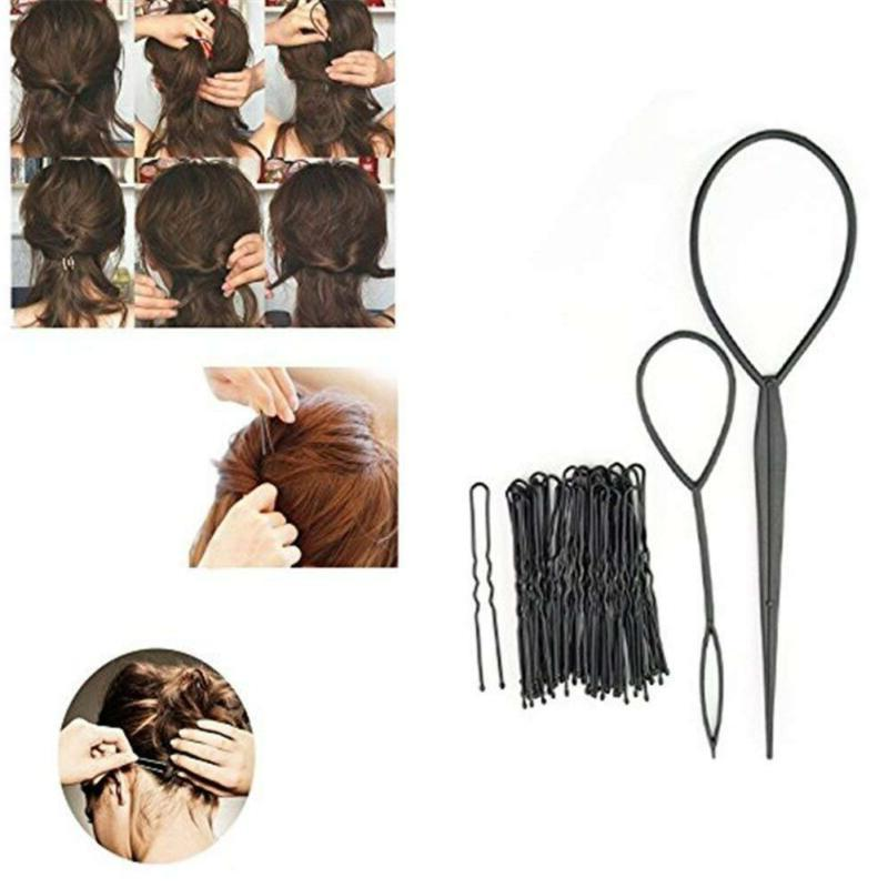 26 Hair Crown Maker Clip Twist Hair Tool
