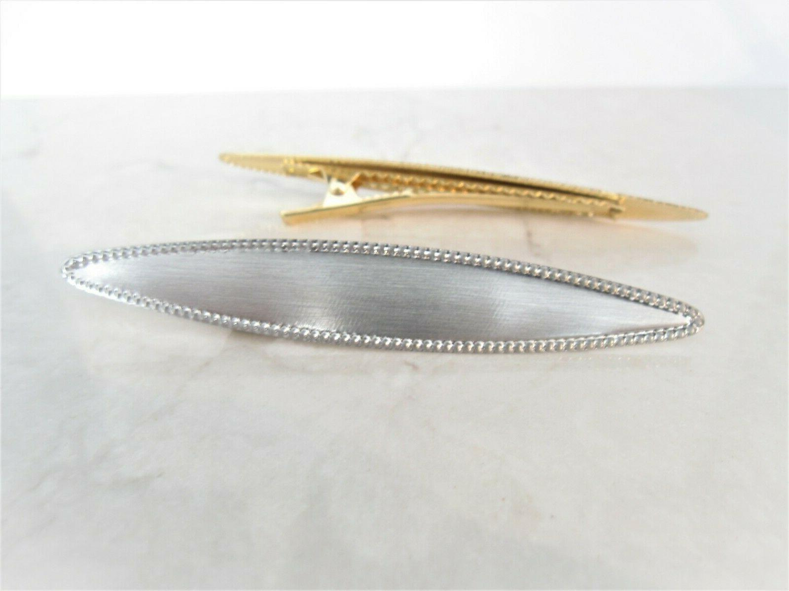 3 inch smaller brushed gold or silver