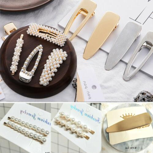 Women Hair Clip Hairband Bobby Pin