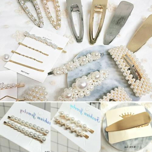 Women Elegant Bobby Pin Barrette